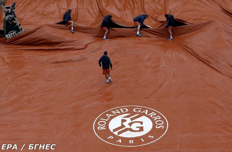 Без повече тенис на Ролан Гарос във вторник