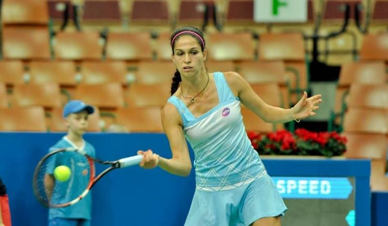 Изабелла Шиникова на осминафинал в Казерта