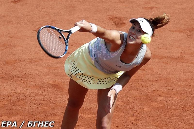 Мугуруса първа стигна четвъртфиналите в Париж