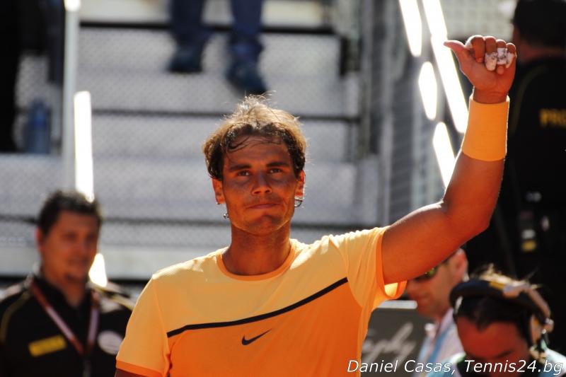 Надал продължава без загубен сет в Мадрид
