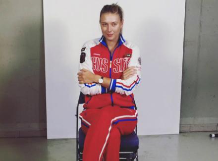 Наказаната Шарапова в отбора на Русия за Рио