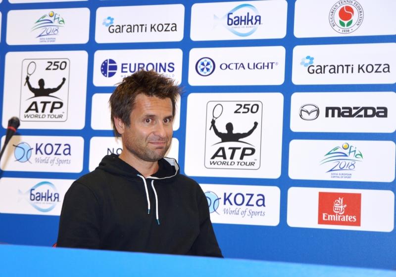 Санторо: Федерер е най-добрият тенисист, който съм виждал