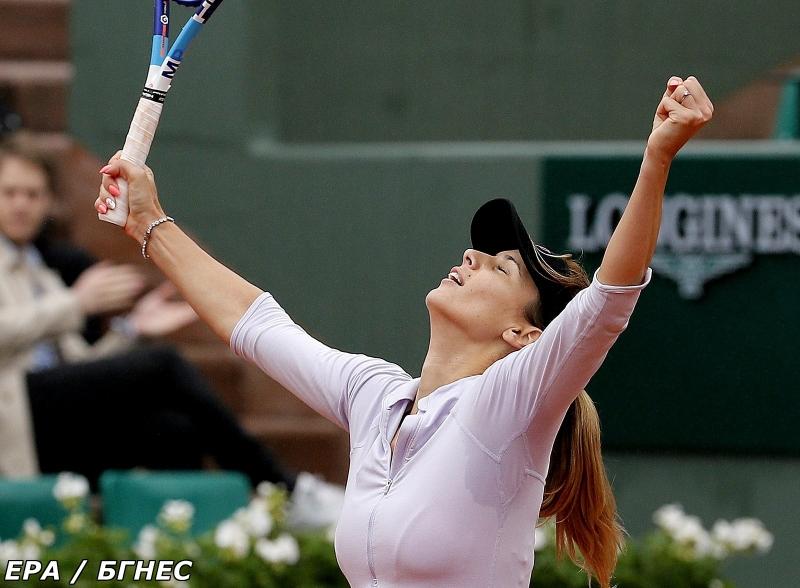Сайтът на WTA: Брилянтна Пиронкова