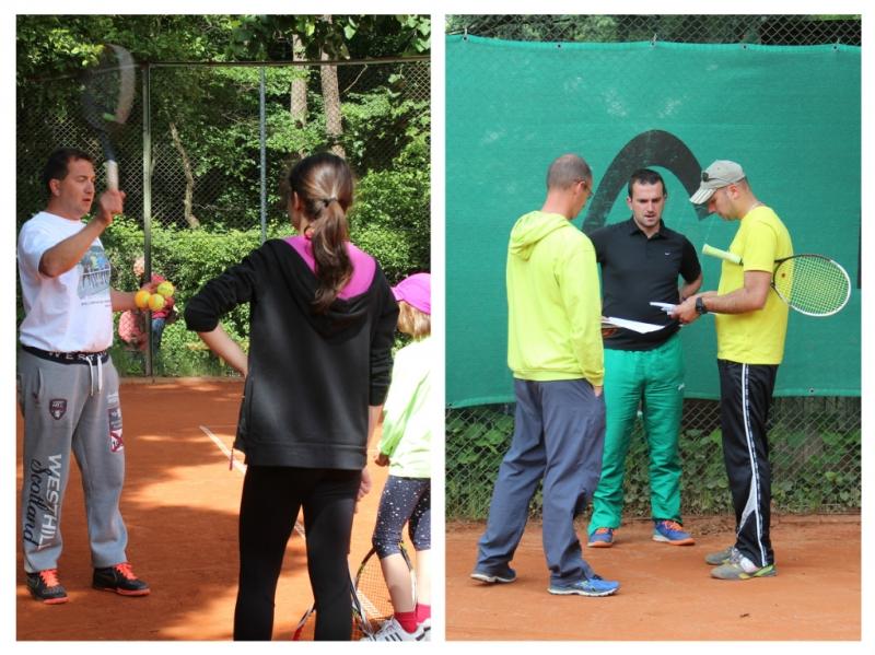 Завърши треньорският курс Level 1 на ITF