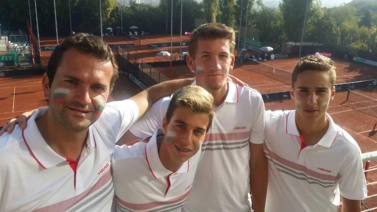 България на четвъртфинал за Купа Дейвис