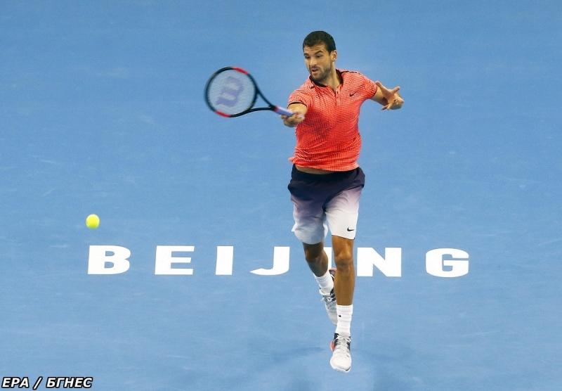 Григор срещу Раонич на полуфиналите в Пекин