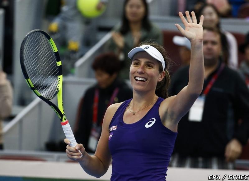 Йохана Конта си гарантира дебют в Топ 10