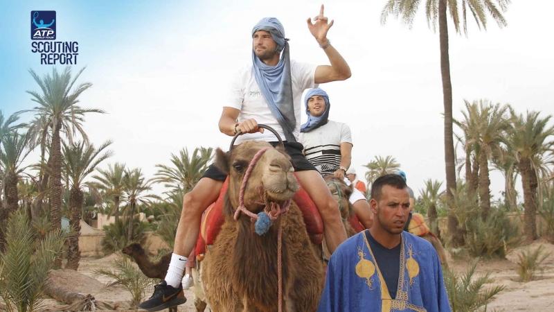 Гришо се разходи с камила в Маракеш