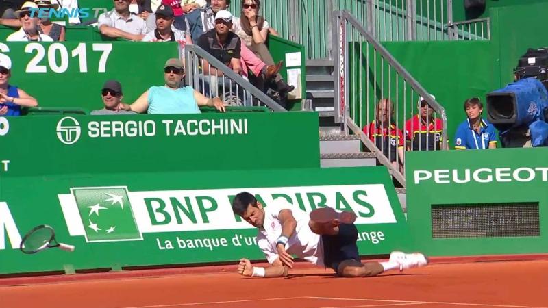 Рамото на Джокович не пострада, за разлика от шансовете му за №1