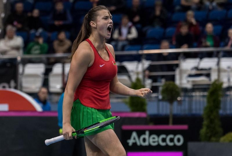 Тийнейджърка прати Беларус на първи финал