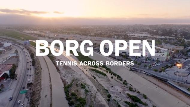 Borg Open на границата между САЩ и Мексико (видео)