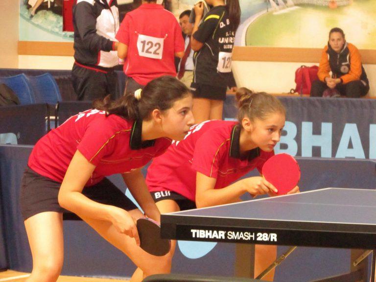 Кадетките 13-и в Европа на тенис на маса
