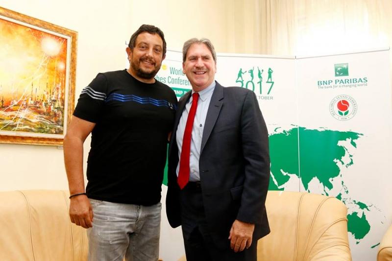 Президентът на ITF: Удоволствие е отново да съм в България