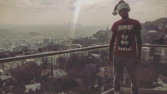 Коледата завладя и Григор Димитров