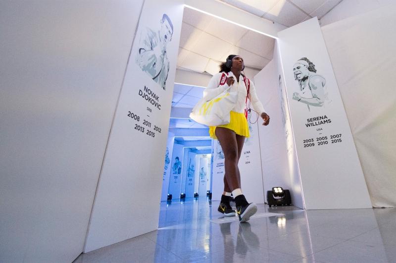 Серина подготвя завръщането си на корта (снимка)