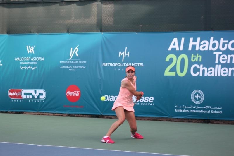 Томова срещу финалистка от Ролан Гарос в Дубай